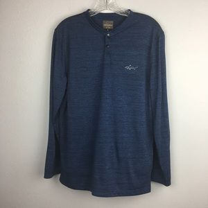 AWESOME GREG NORMAN L/S LIGHTWEIGHT PULLOVER S